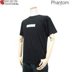 PHANTOM ( ファントム )/ Tシャツ - TRIPPY BOX LOGO S/S TEE ( BLACK )