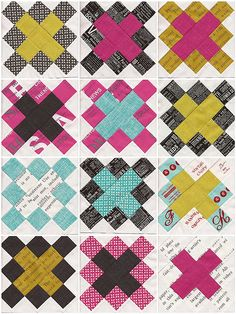 Granny Square Blocks First 12 | by threedancingmagpies
