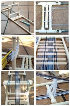 Free eBook: Make a Loom and Weave a Band in 2 Days! DIY inkle loom and warping instructions, plus 6 projects!