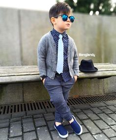 trendy ideas for baby boy outfits ideas kids fashion Toddler Boy Fashion, Cute Kids Fashion, Little Boy Fashion, Toddler Boy Outfits, Toddler Boy Photos, Cheap Fashion, Fashion Fashion, Wedding Outfit For Boys, Boys Wedding Suits