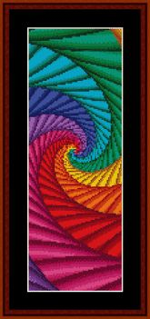 Click to view FREE Fractal counted cross stitch pattern! Free through the end of February!