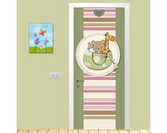Cute colors,αυτοκόλλητο πόρτας παιδικό Children, Young Children, Boys, Child, Kids, Children's Comics, Kids Part, Babies, Kid
