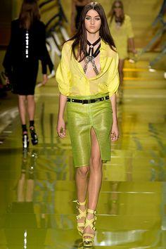 Versace #SS14 #MFW