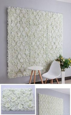 Outstanding diy flowers information are offered on our website. Read more and you wont be sorry you did. Flower Wall Backdrop, Wall Backdrops, Flower Wall Decals, Diy Backdrop, Backdrop Wedding, Backdrop Decorations, Creative Wall Decor, Creative Walls, Diy Wall Shelves