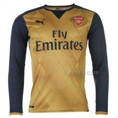 http://www.yjersey.com/1516-arsenal-away-golden-long-sleeve-jersey-whole-kitshirtshortsock.html Only$45.00 15-16 ARSENAL AWAY GOLDEN LONG SLEEVE JERSEY WHOLE KIT(SHIRT+SHORT+SOCK) Free Shipping!