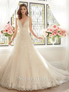 Brides visited wedding dresses