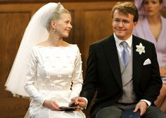 Mabel de Holanda, vestida de novia en 2004, Princess Mabel and Prince Friso of The Netherlands