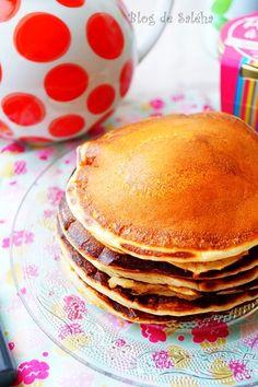 Pancakes sans oeufs, sans lait & sans beurre