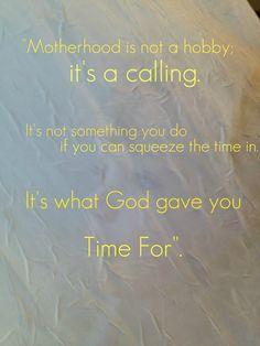Motherhood-an all encompassing best job!