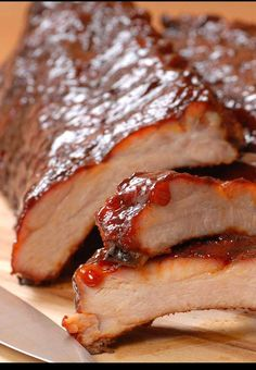 Famous Dave's legendary ribs (there's also a FD bbq sauce recipe elsewhere on my copycat board!)