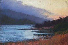 Heading for Home by Erika Perloff Pastel ~ 9 x 12