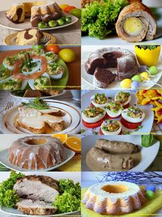 50 przepisów na Wielaknoc Easter Dinner, Easter Food, Calzone, Easter Recipes, Taste Buds, Baked Potato, Feta, Sausage, Food And Drink