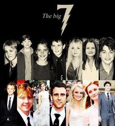 The HP Big 7...J.K. Rowling Has Confessed That These 7 Were Her Personal Favorites.