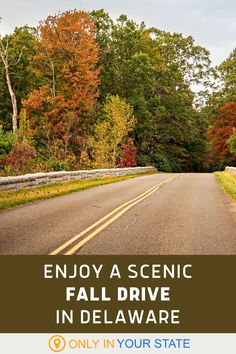 Enjoy beautiful fall foliage on this scenic 40-mile drive through Delaware! You'll also appreciate the historic homes, museums, and river crossings along the route. Make a day trip out of it! | Family Friendly | Things To Do | Local Travel Sussex County, Back Road, Local Attractions, Haunted Places, Historic Homes, Delaware, Day Trip, Vacation Spots, Road Trips