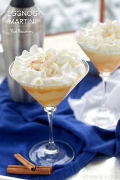 Eggnog Martini | Real Housemoms