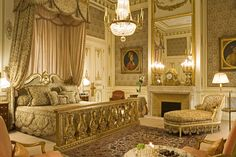hotel ritz paris imperial suite...would looovvvee to stay here one day..