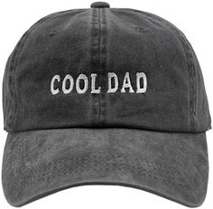 Amazon.com: Nissi Cool Dad Hat (Black): Clothing Cool Dad Hats, Back Strap, Baseball Cap, Fashion Brands, Topshop, Dads, Man Shop, Gift Guide, Shopping