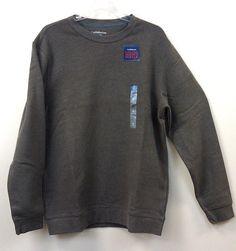 Just $16.00 !!  NEW/NWT Croft & Barrow Men's Sueded Fleece Sweatshirt Asst Sizes Long Sleeve #CroftBarrow #FleeceSweatshirt