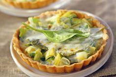 Quiche met spinazie en geitenkaas - Weekend Knack