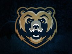 Football Champion New England Football Names For Women Typography Logo, Graphic Design Typography, Logo Branding, Branding Design, Lion, Bear Logo, Great Logos, Animal Logo, Cool Logo