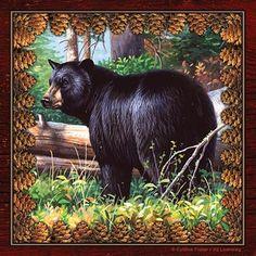 . Black Bear Napkins