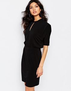 Y.A.S | Y.A.S Ritter Dress with High Neck at ASOS