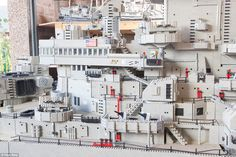 Fisherman Spent 3 Years Building Massive 24-Foot Long Lego USS Missouri