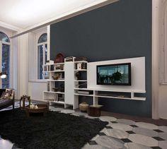 Slightly different option for television unit? Set System Composition   King Furniture