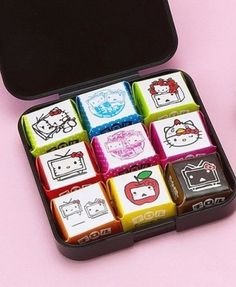 Hello Kitty x NicoNico Movie Tirol chocolates