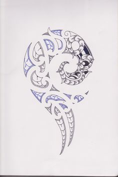 dessin tatouage maori 358 500 art. Black Bedroom Furniture Sets. Home Design Ideas