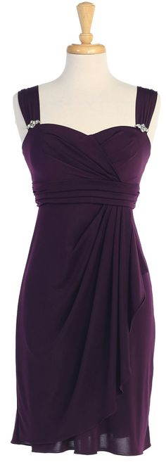 "Bridesmaid Dresses  ""Plum, Teal, Royal, Red, Black.....I like but it wouldn't be a bridesmaid dress"