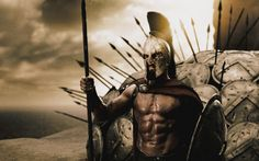 """When the """"300"""" movie came out, I was so impressed and fascinated with the physiques of the actors portraying the spartan warriors…especially King Leonidas (Gerard Butler). I don't remember any other movie having the amount …"""