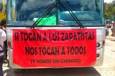 El Congreso Nacional Indígena (CNI) en la #CaravanaGaleano, palabras de solidaridad al EZLN