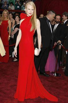 Oscar 2007. Nicole Kidman vestida de Balenciaga