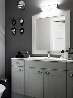 kannustalo-vihervaara Double Vanity, Bathrooms, Cottage, Decoration, House, Ideas, Decor, Bathroom, Home