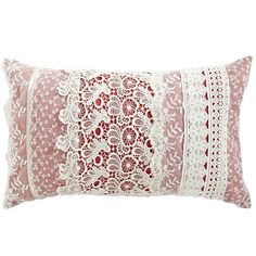 Layered Laces Pillow - Pier1 US