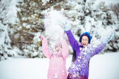 Tracy Comer, Elkton 	 My daughters at play in the snow #WHSVsnow