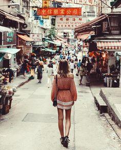 Hong Kong - Soho streets  | Tuula