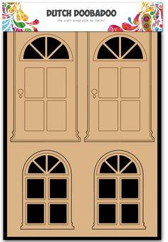 465.655.002 Dutch Doobadoo Paper Art Deuren en Ramen