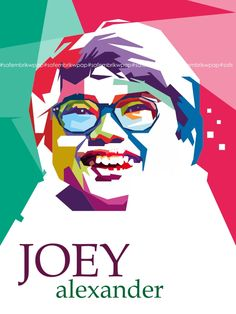 Joey Alexander on WPAP #joeyalexander by safembrik on DeviantArt