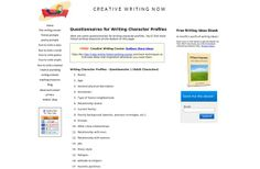 character questionaires Writing Courses, Writing Characters, Character Profile, Creative Writing, Prompts, Physics, Learning, Ideas, Handwriting Classes