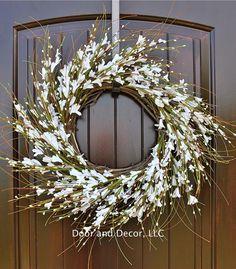 Wreaths for front door, Beautiful wreaths, Fresh wreaths, Wreaths, Wreath ideas, Front door ideas, Front door decor