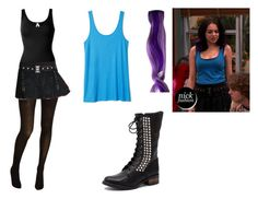 """""""Jade West- Nickelodeon's Victorious- The Bad Roommate"""" by brainyxbat ❤ liked on Polyvore"""