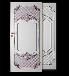 DRZWI BAROCO ANGELICA Opatentowana technologia pozwala na tworzenie wyjątkowych wzorów o niecodziennej stylistyce.