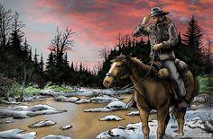Alone Wild West R.Droulez
