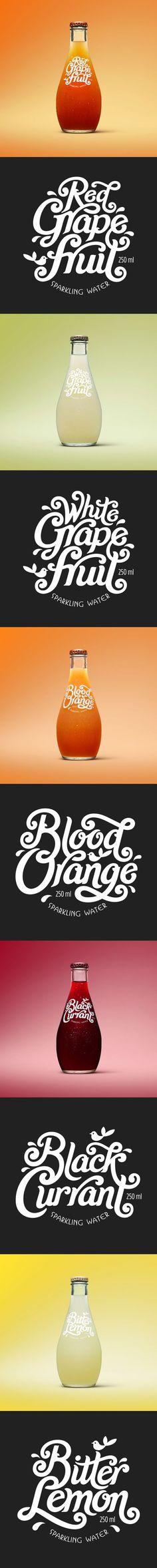 All Good Organics – Label Design (Bottle Design Typography)
