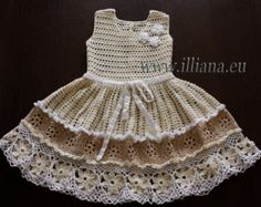 Häkelanleitung: Baby-Kleidchen