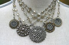 Vintage buttons from the 1880s with Chanel Chains..... 155-225 dollars