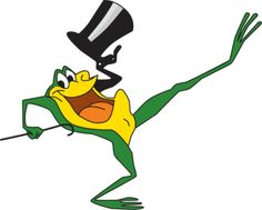 Michigan J. Frog, Looney Tunes: December 1955 – Michigan J. Frog, a Warner Bros. cartoon character, made its debut in One Froggy Evening. Good Cartoons, Old School Cartoons, Retro Cartoons, Classic Cartoons, Vintage Cartoon, Looney Tunes Characters, Looney Tunes Cartoons, Classic Cartoon Characters, Disney Characters