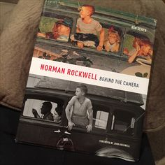 If you ever struggled with HOW to use photo reference, get this book. #normanrockwell #painting #photoreference